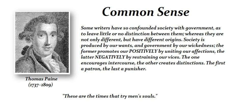 Paine-Common Sense