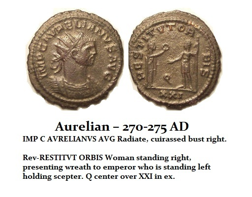 Aurelian-GÇô-270-275-AD-Restorer-of-the-World