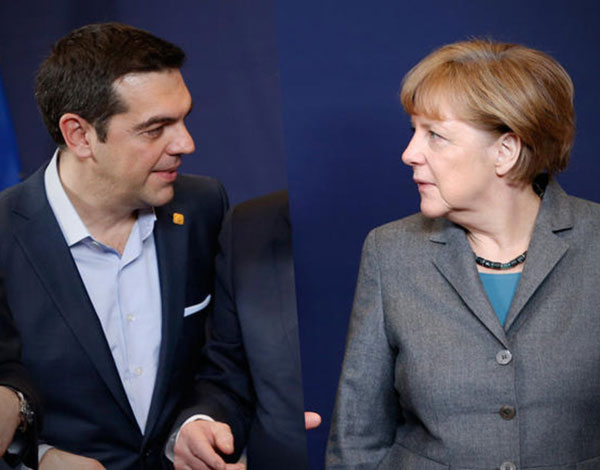Tspiras-Merkel