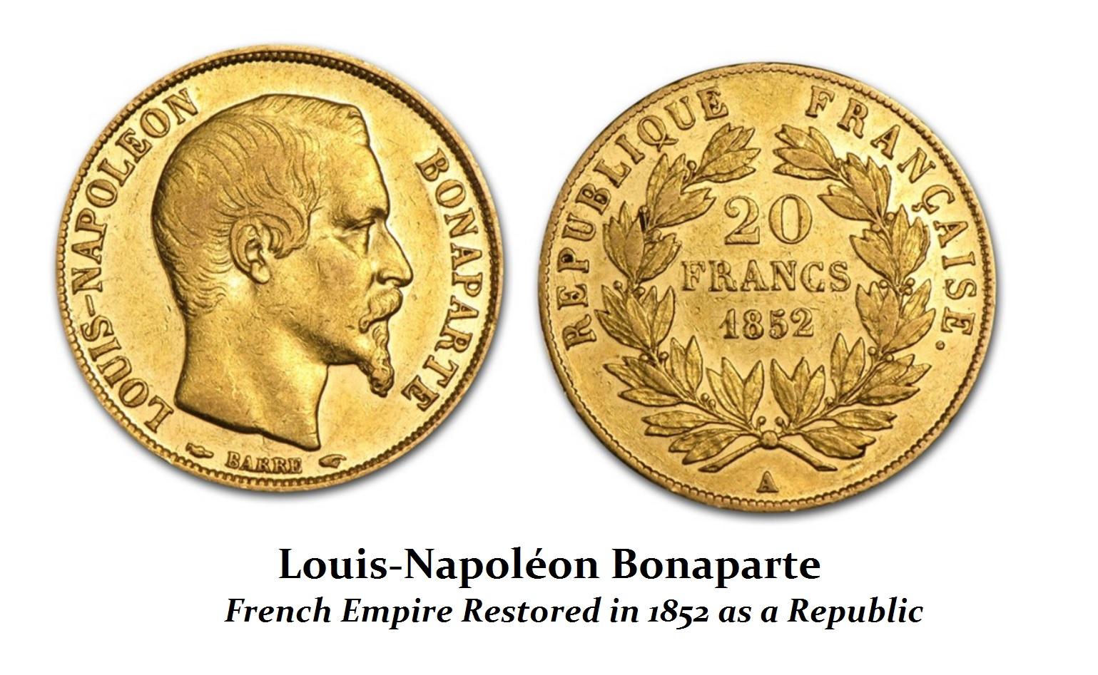1852 Republic Bonaparte