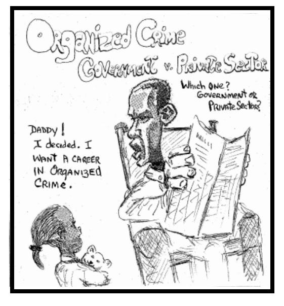 Obama Organized Crime