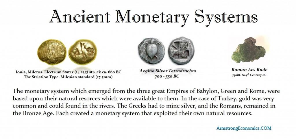 ANCIENT MONETARY SYSTEMS