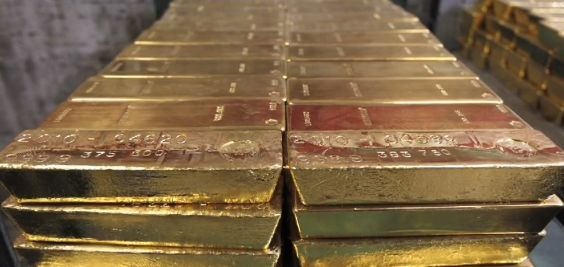 Gold 400 oz Bars
