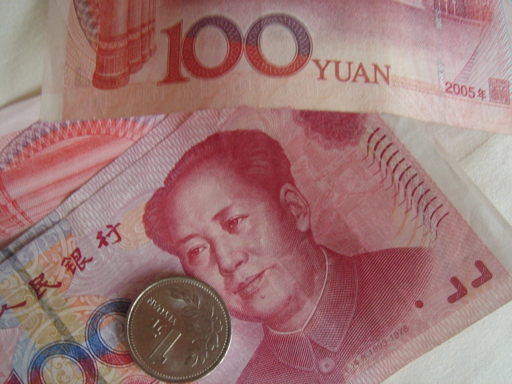yuan as global currency The yuan's average daily turnover rose to $202 billion in april from $120 billion in the same month of 2013, boosting its ratio of global foreign-exchange trading to 4 percent from the previous 2 percent, the survey results show.