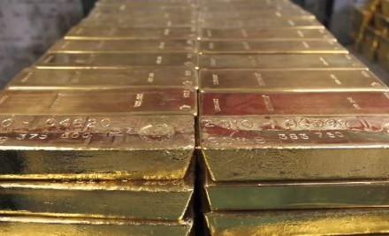 Gold 400 oz Bars