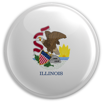 illinois Button
