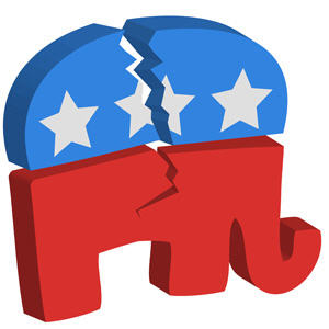 Republican Party Civil War of Self-Destruction