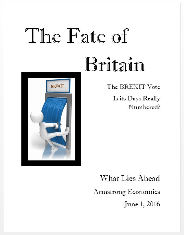 BREXIT Report Cover