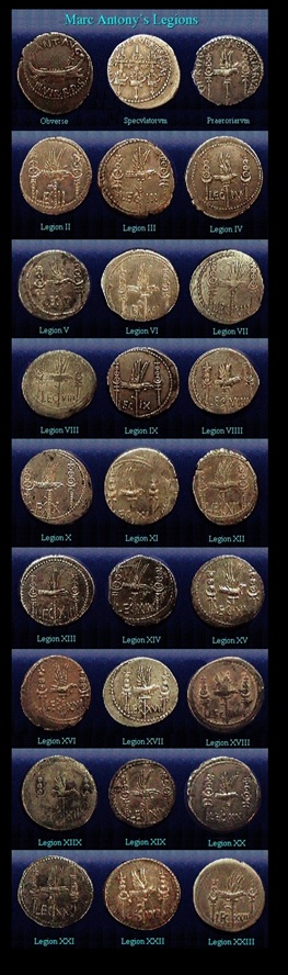 Marc Antony-Legionary denarius
