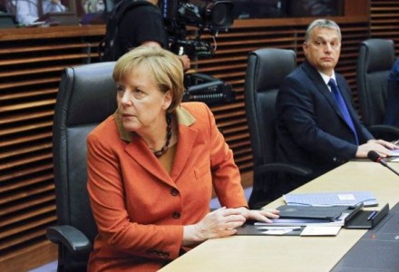 Merkel-Forcing Refugees