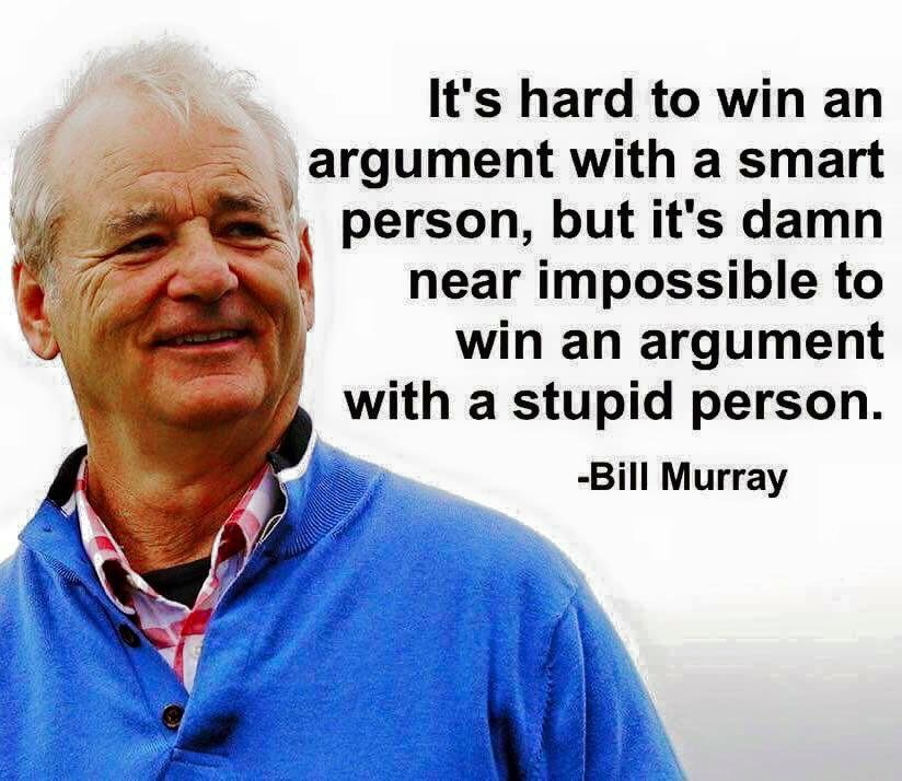 Murry on Stupidity