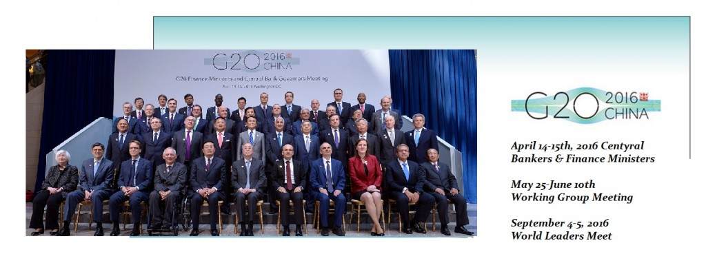 G20 Finance Ministers April 2016