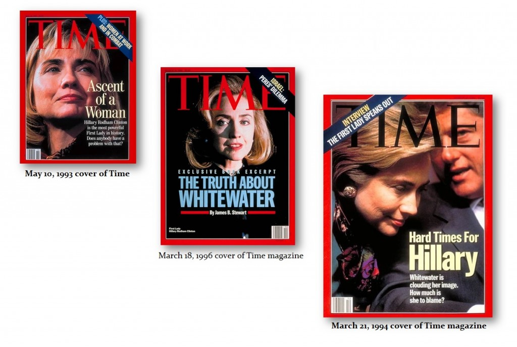 Hillary Whitewater Time Cover