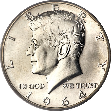 Kennedy 50cent half dollar