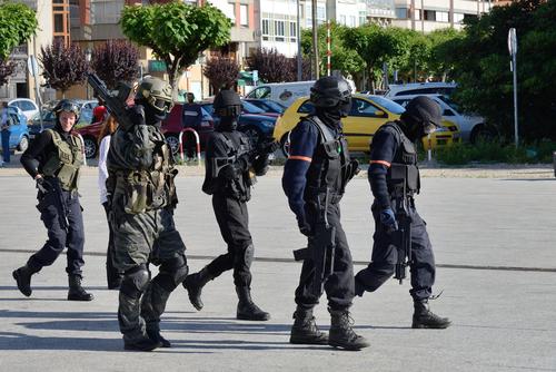 Military Exercises Civil Unrest