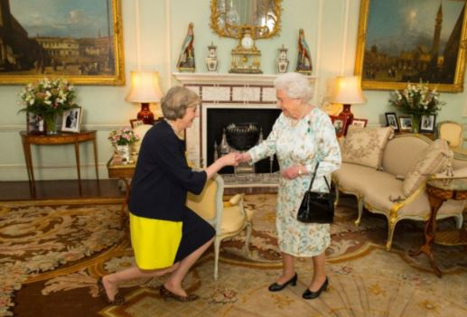 May becomes PM