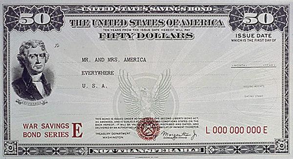 $50 War Bond