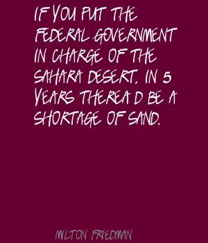 Friedman-sand