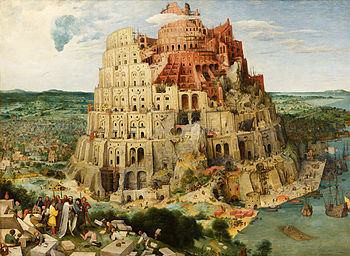 Tower of Babel Bruegel - Peter