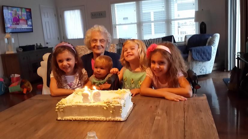 Ida Armstrong Mom 98th