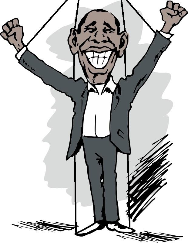 Obama-puppet