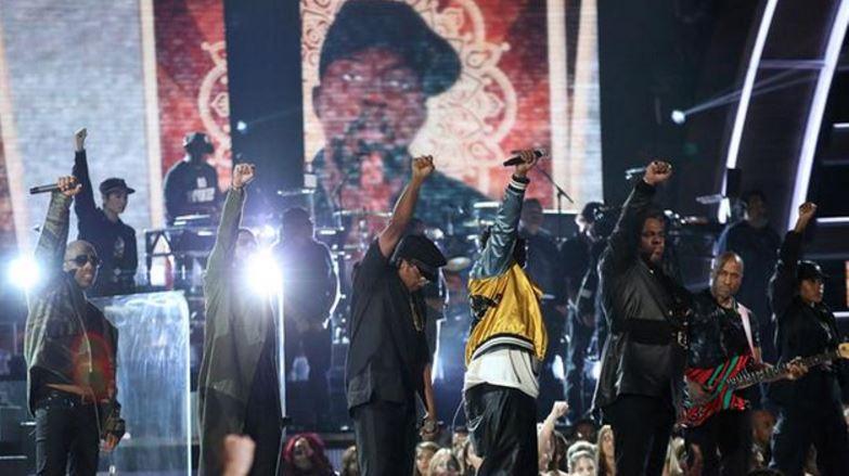 Grammy Protest