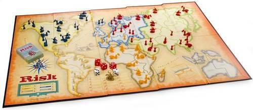 Risk world domination game