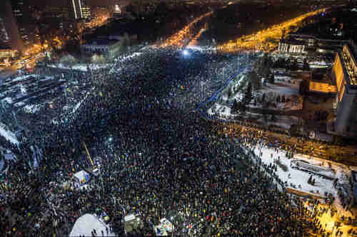 Romania-Protest Feb 2017