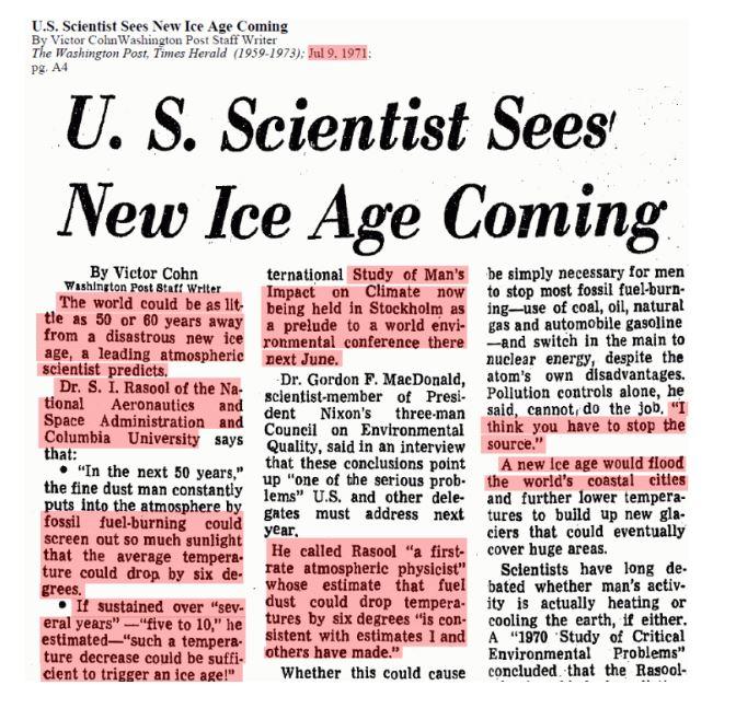 Risultati immagini per seventies ice age