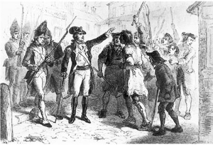 Regulator Uprising 1771