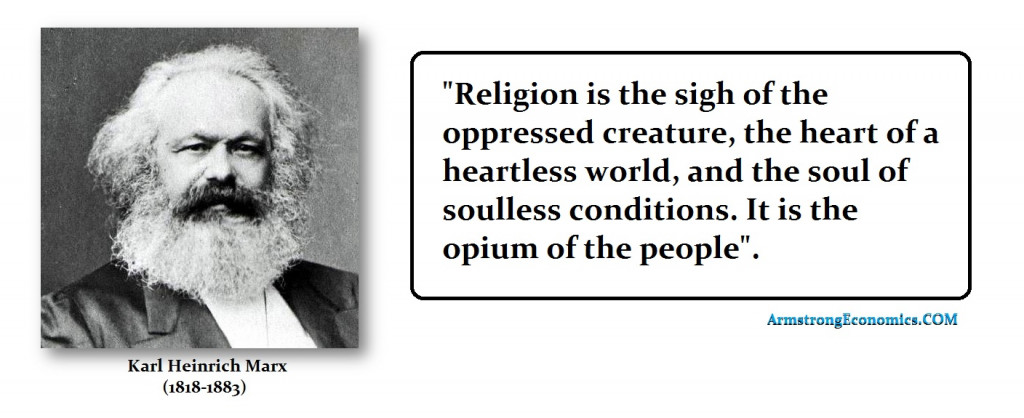 Marx Religion Opium of Masses