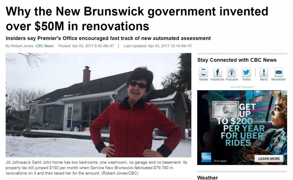 New Brunswick Taxes