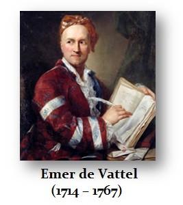 Vattel Emer de (1714 – 1767)