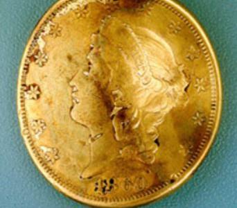 confederate submaribe George Dixon gold coin